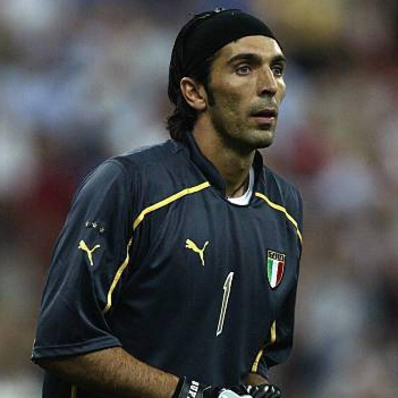 Buffon's Official Italy Signed Shirt, 2003