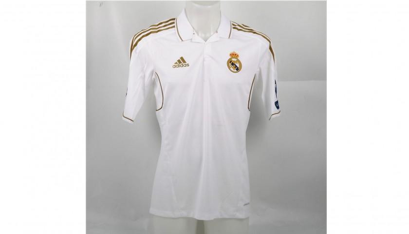 the best attitude ffab8 ea1ea DI Maria's Issued/Worn Real Madrid Shirt, UCL 2011/12 - CharityStars