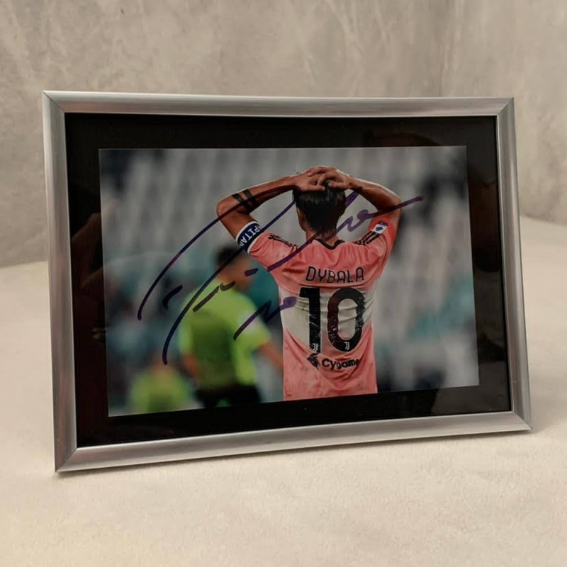 Paulo Dybala Signed Photograph