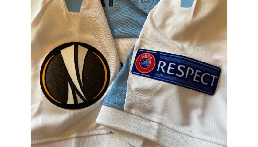 Luis Alberto's Match Shirt, Lazio-Eintracht Frankfurt EL 2018
