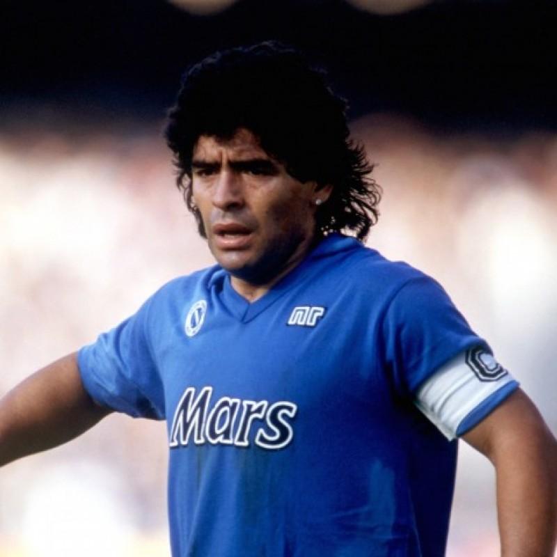 Maradona's Official Napoli Signed Shirt, 1989/90