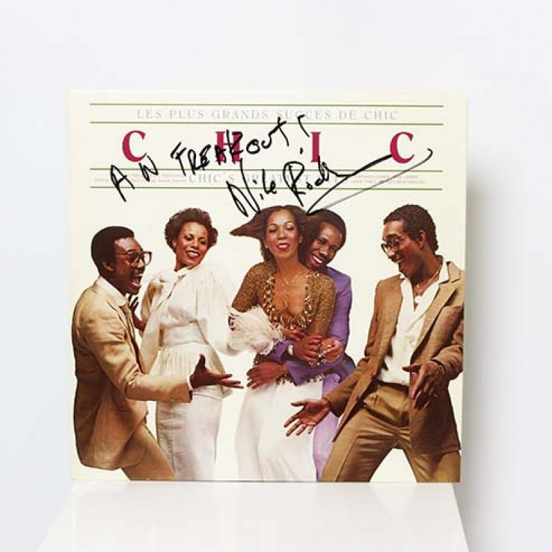 Nile Rodgers Signed CHIC Greatest Hits Vinyl