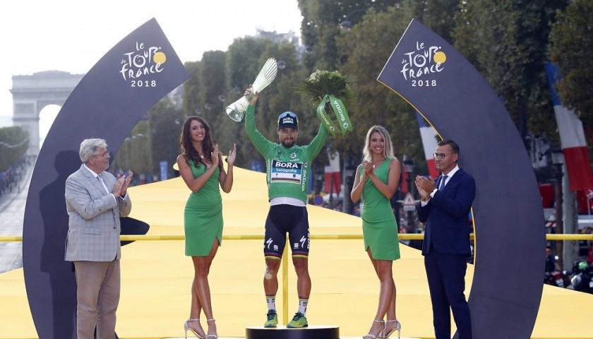 Green Jersey Signed by Peter Sagan - Tour de France 2018