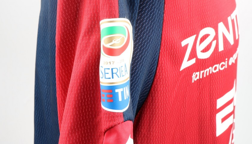 Migliore's UNWASHED Special Genoa-Sampdoria Bench-Worn Shirt