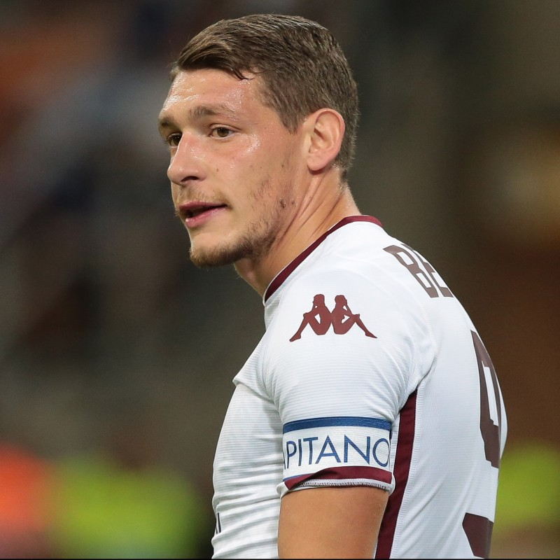 Belotti's Official Torino Signed Shirt, 2018/19