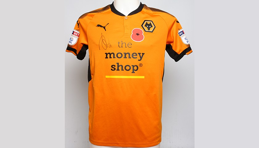 dca19d979 Poppy Shirt Signed by Wolverhampton Wanderers FC s Jack Price ...