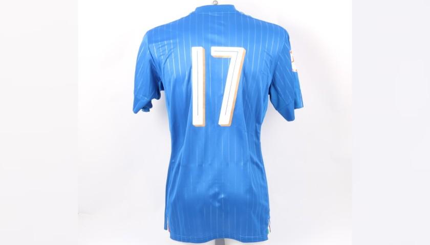 Kean's Match Kit, Italy-Serbia 2016