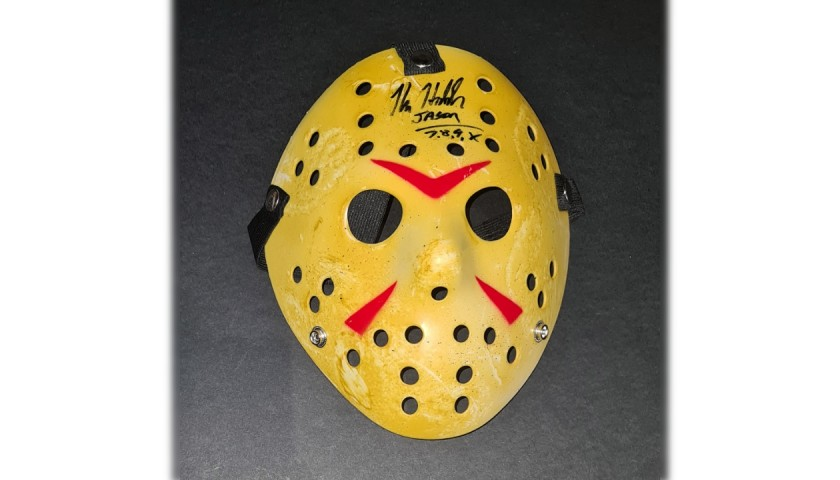 """Jason Voorhees Signed Mask - """"Friday the 13th"""""""