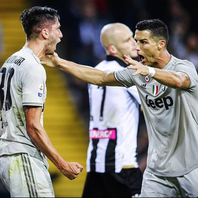 Ronaldo's Juventus Match Shirt, 2018/19