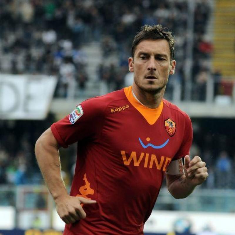 Totti's Roma Signed Match Shirt, 2011/12