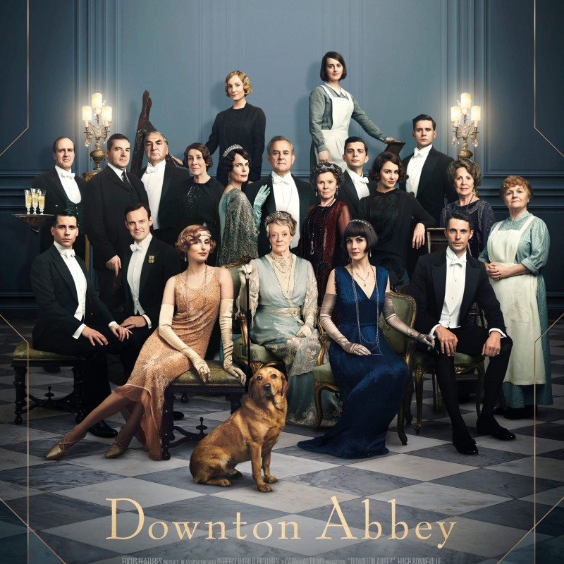Exclusive Bound and Signed Downton Abbey Movie Script
