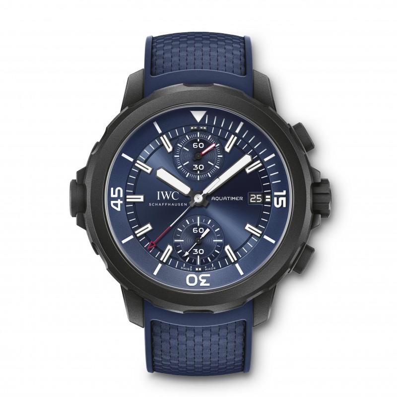 IWC Aquatimer Chronograph Edition Watch: Laureus Sport for Good Special Edition