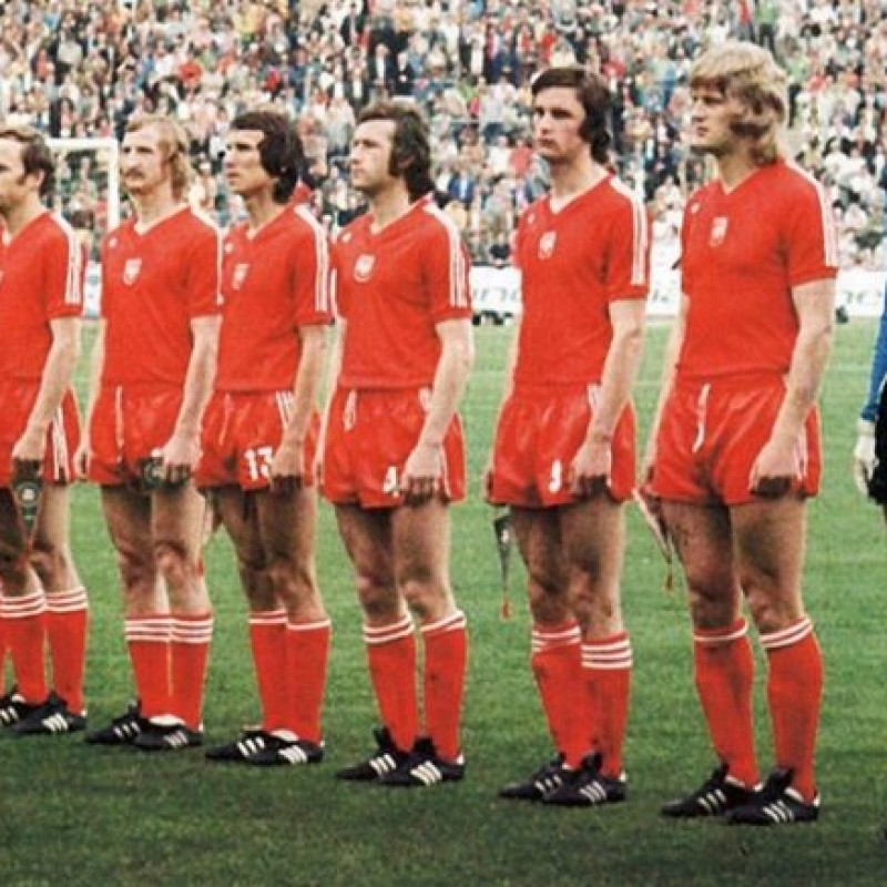 U-21 Poland Match Shirt - 1978 Season