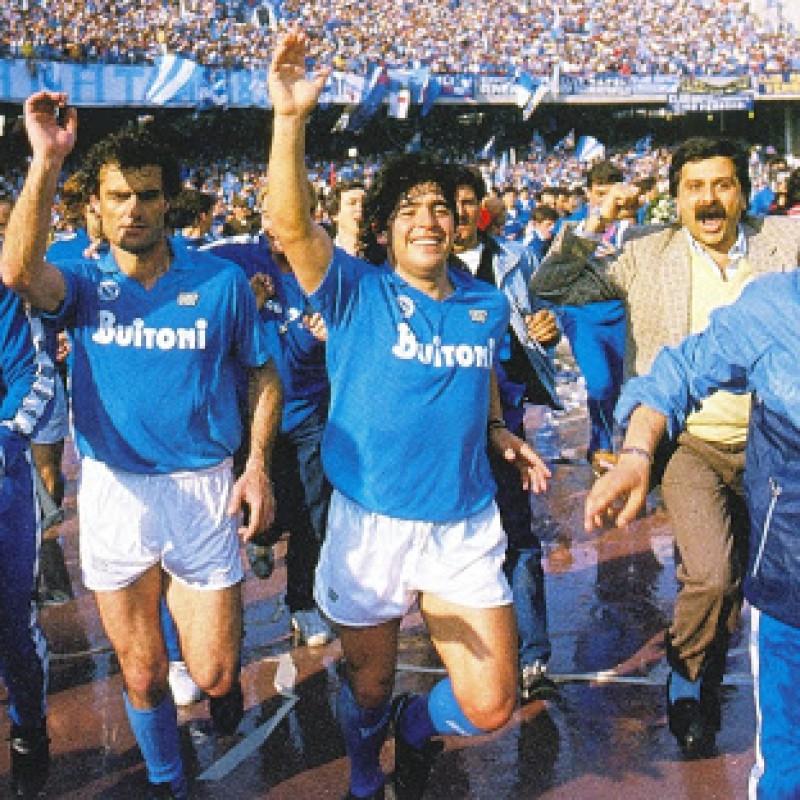 Official Napoli Scudetto Medal, 1986/87