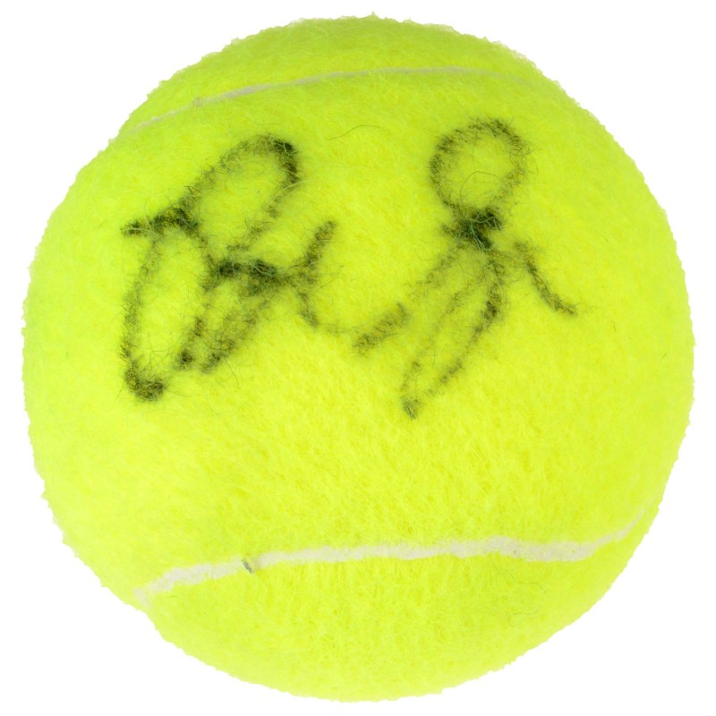 Pete Sampras Hand Signed Tennis Ball