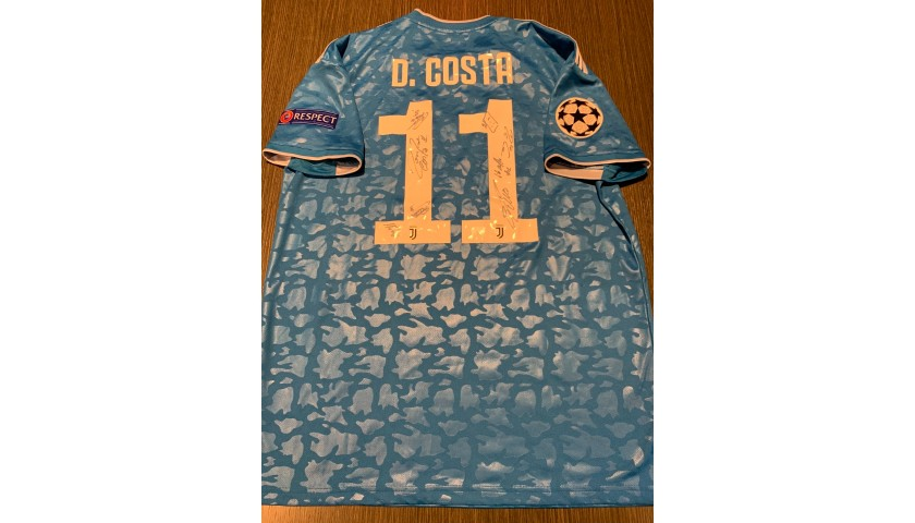 Douglas Costa's Official Juventus Shirt, 2019/20 - Signed by the Players -  CharityStars