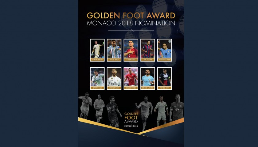 Attend the Golden Foot Gala Dinner and Spend a Night at the Fairmont Hotel in Monte Carlo