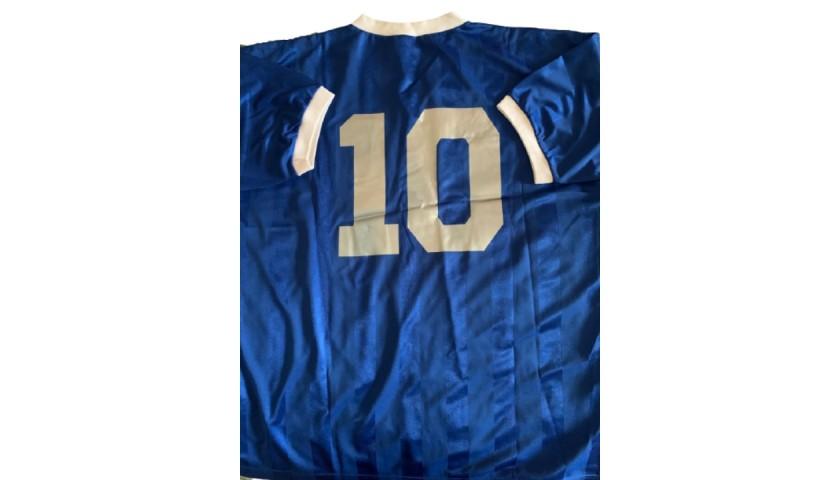 Maradona's Argentina Retro Shirt, 1986 World Cup
