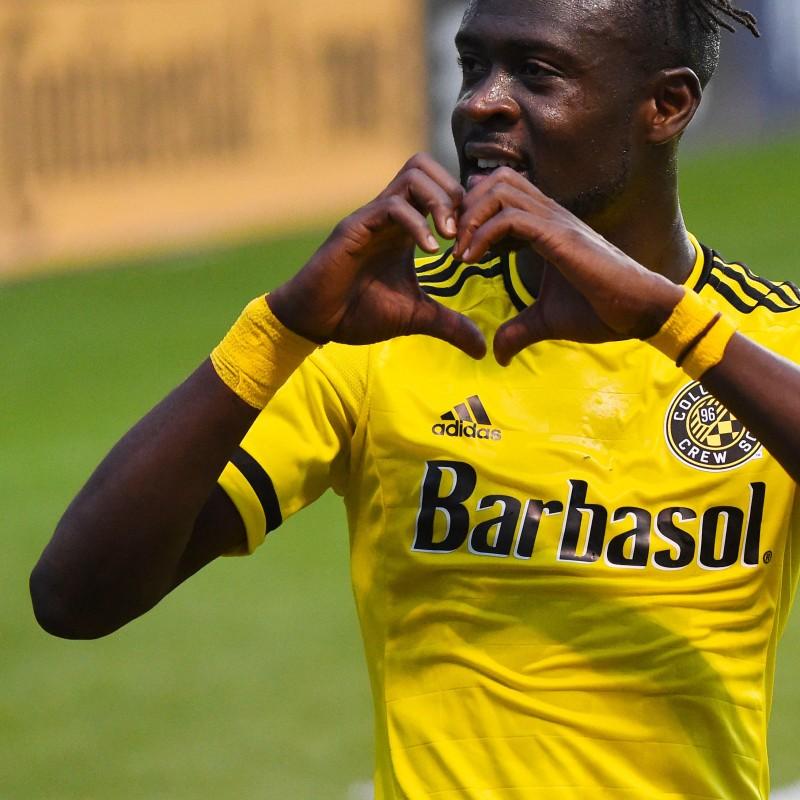 Columbus Crew shirt signed by Kei Kamara