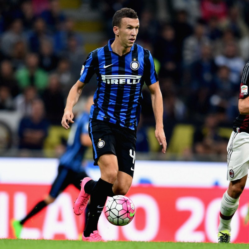 Perisic's Inter Shirt and Training Shorts - Worn