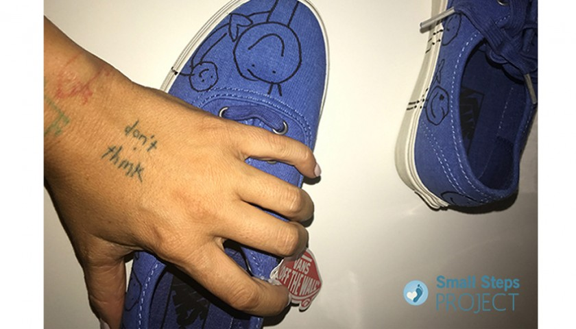 Sia Signed Shoes
