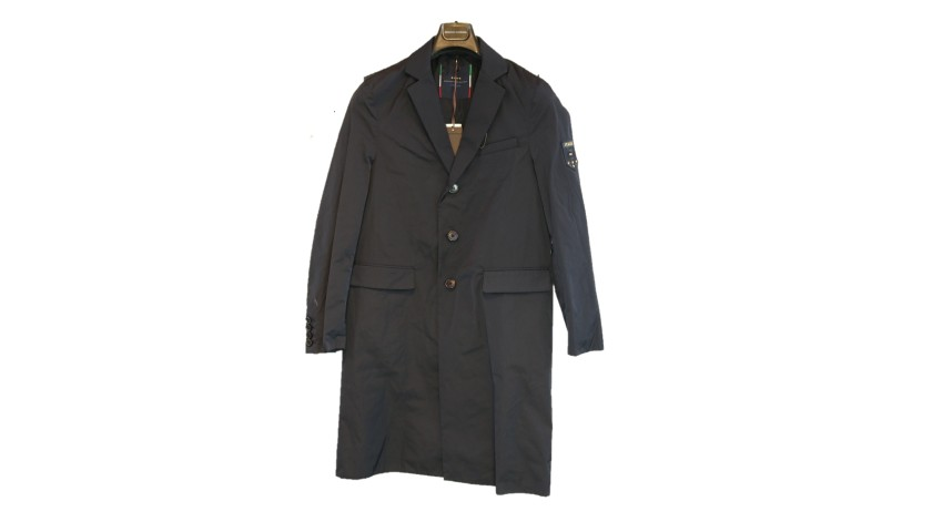 Roberto Soriano's Italy National Football Team Trench Coat