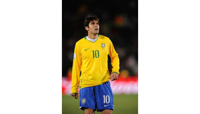 Kaka's Brazil Match Shirt, Confederations Cup 2009