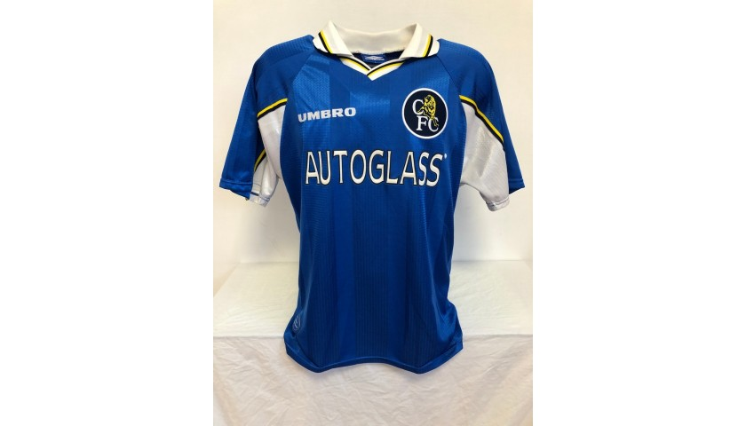 Zola's Official Chelsea Signed Shirt, 1997/98