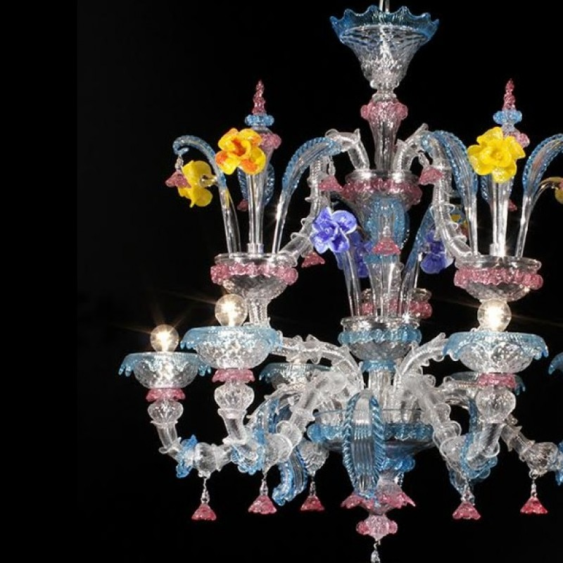 Exclusive Murano Glass Chandelier