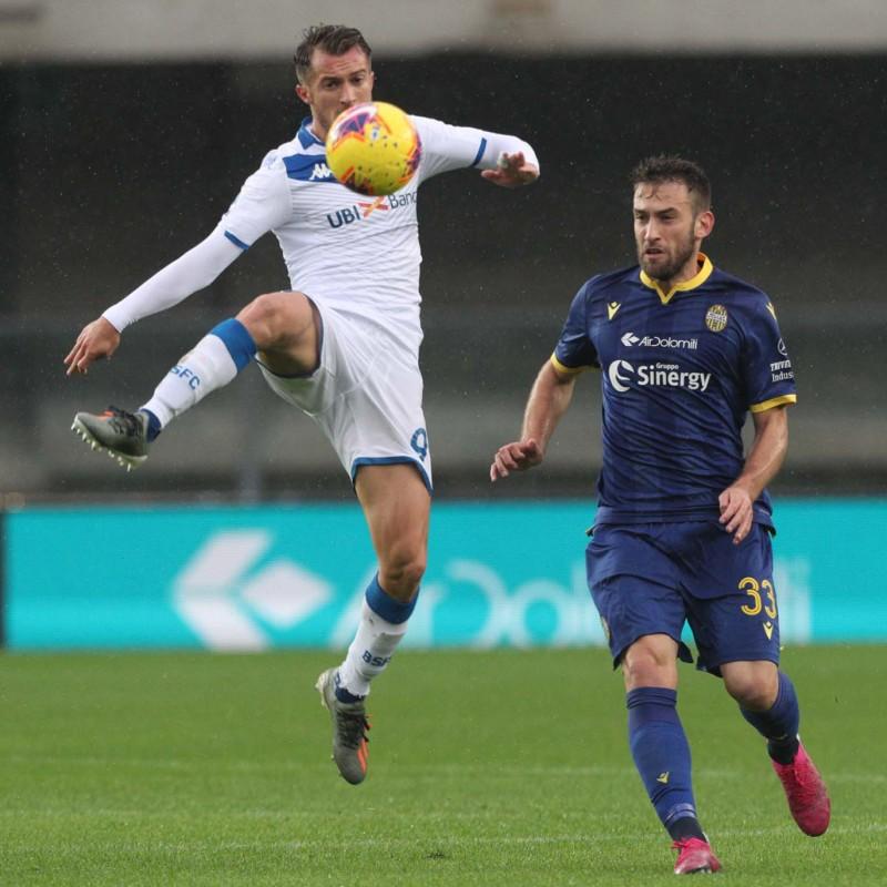 Empereur's Hellas Verona Match-Issued Shirt, Serie A 2019/20