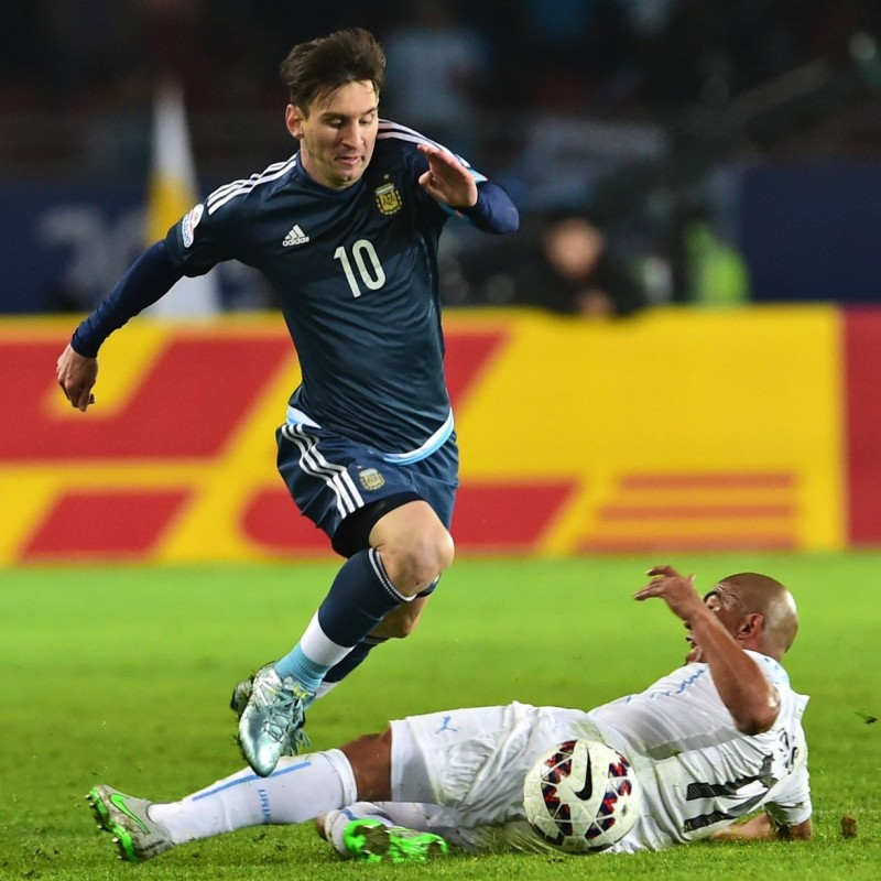 Messi's Match Shirt, Argentina-Uruguay 2015