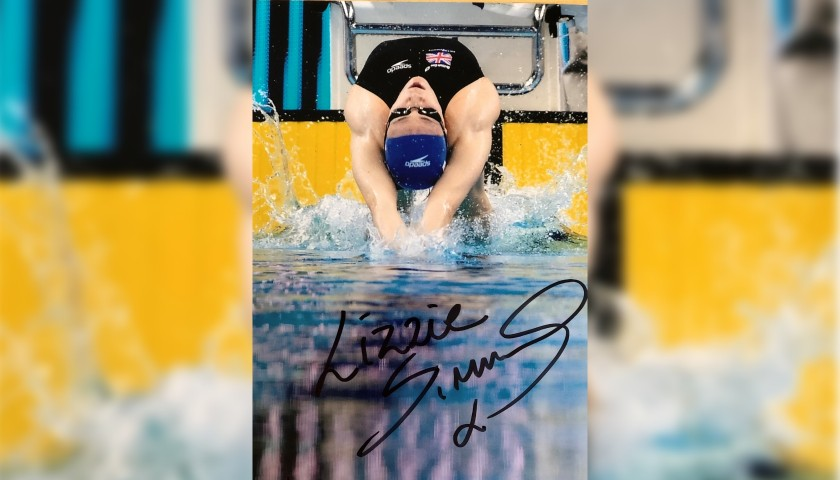 Lizzie Simmonds Commonwealth Games Swimming Merchandise