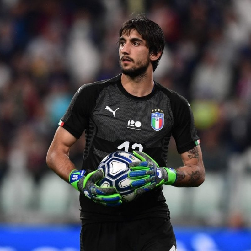 Perin's Match Kit, Italy-Sweden 2017
