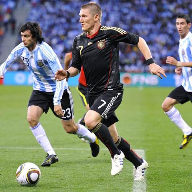 Schweinsteiger's Official Germany Signed Shirt, 2010/11
