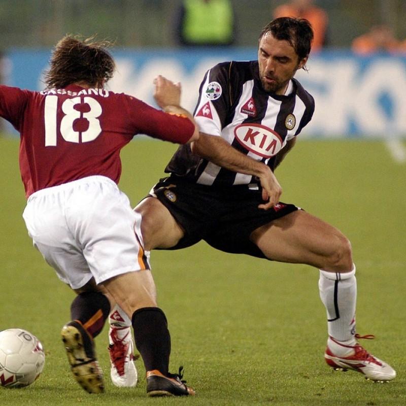 Bertotto's Match Shirt, Udinese-Lazio 2004/05