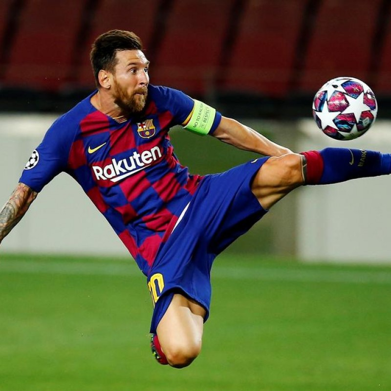 UCL 2019/20 Football - Signed by Messi