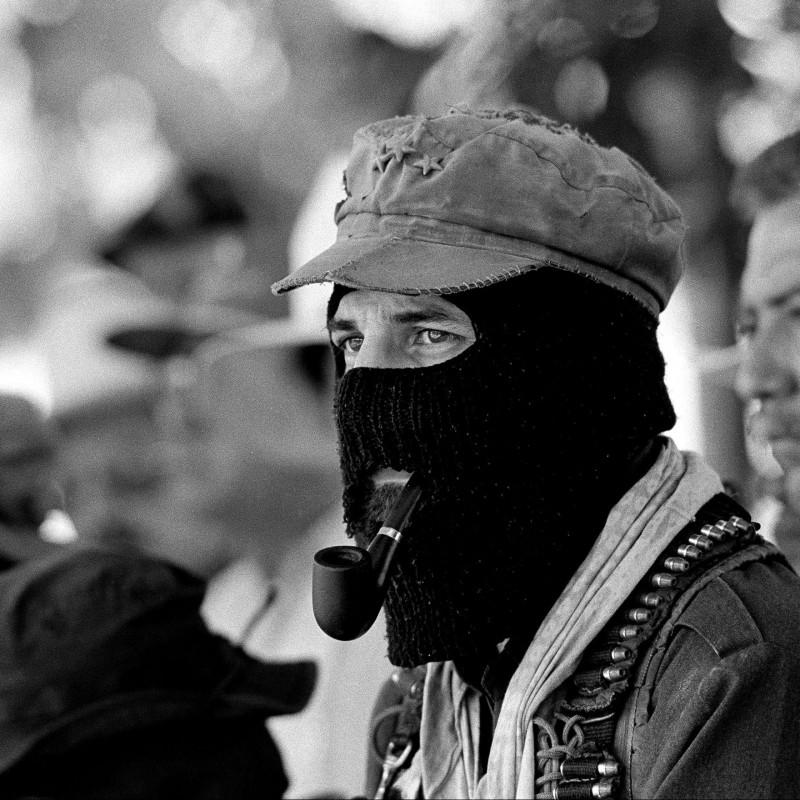 """Sub comandante Marcos"" Photograph by Isabella Balena"