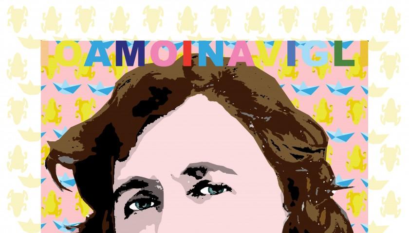"""""""IOAMOINAVIGLI, Alda Merini"""" by Antonio Spanedda"""