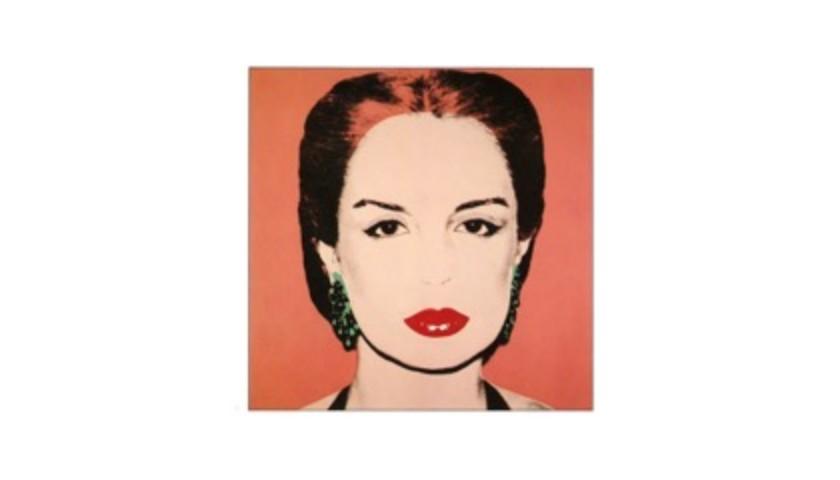 """Carolina Herrera"" by Andy Warhol"