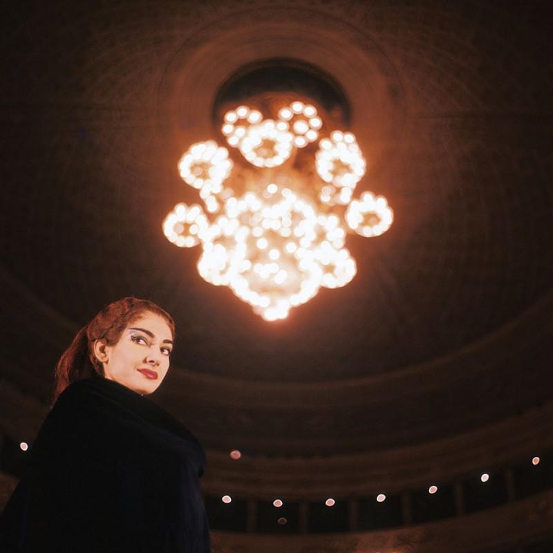 """Maria Callas"" - Photograph by Gianni Greguoli"