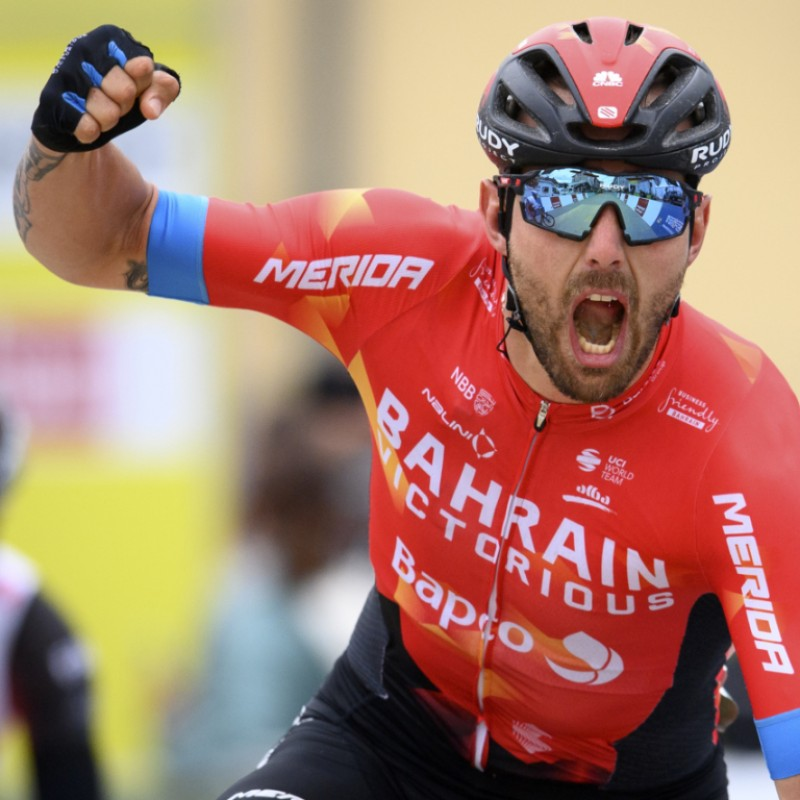 Sonny Colbrelli's Bahrain Victorious Signed Jersey