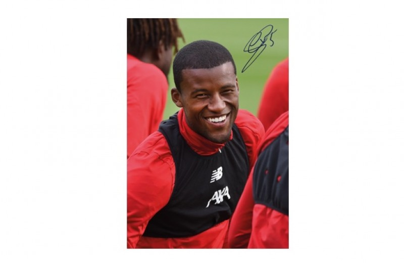 Gini Signed Picture
