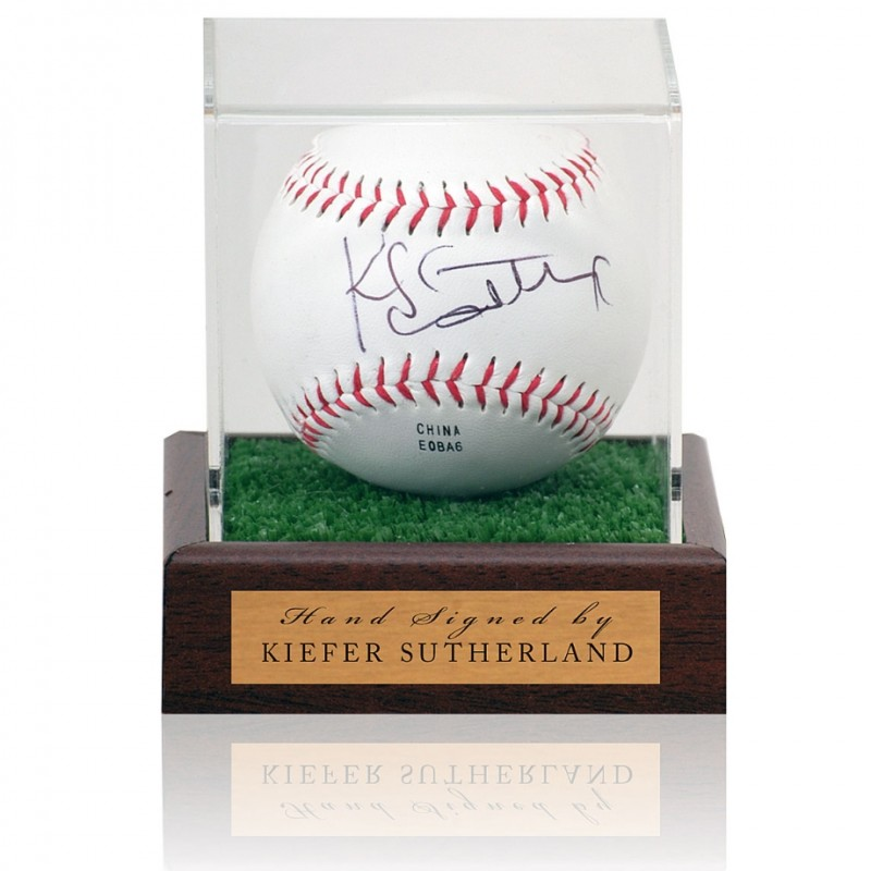 Kiefer Sutherland Hand Signed Baseball