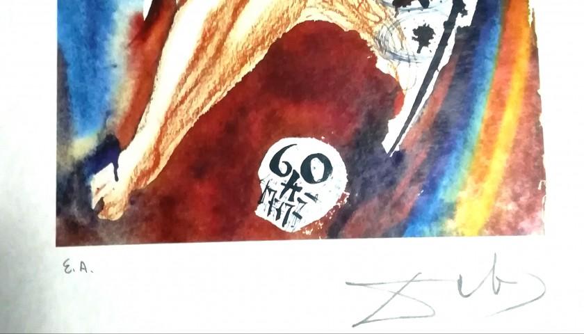 Six Lithographs with Original Folder by Salvador Dali