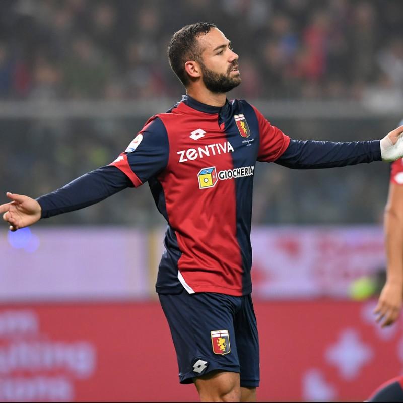Biraschi's Genoa Match-Issue Signed Shirt, 2018/19