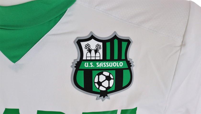 Vrsaljko's Sassuolo Worn Shirt, 2015/16