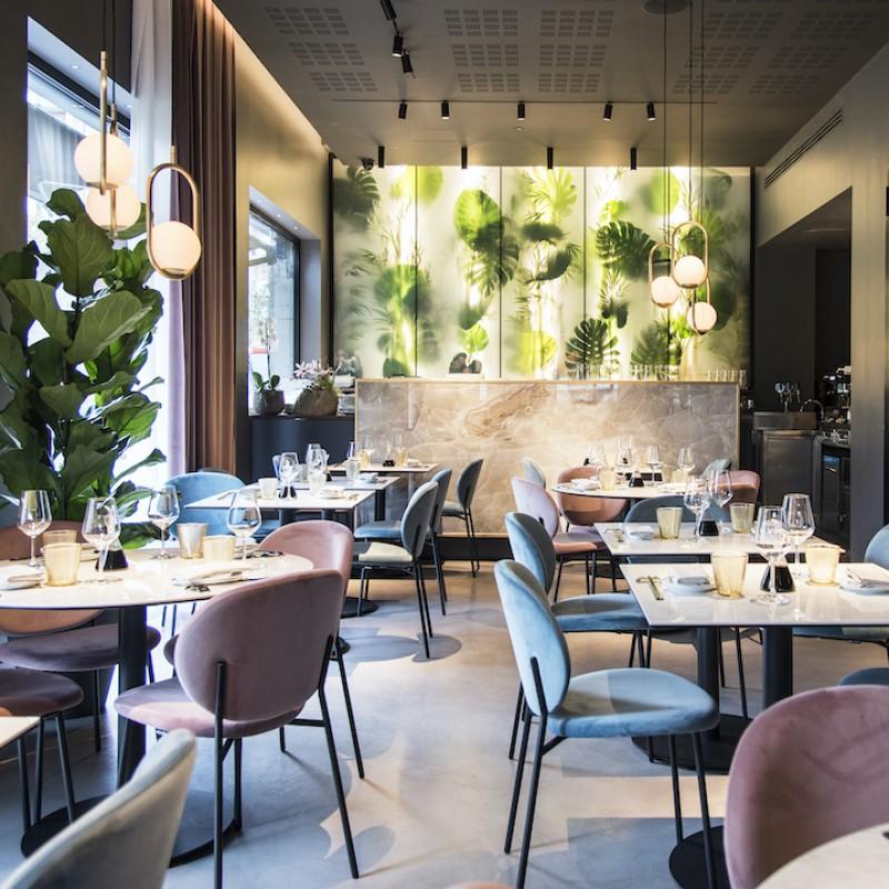 Dinner for Two at QOR Restaurant in Milan, ItalyT