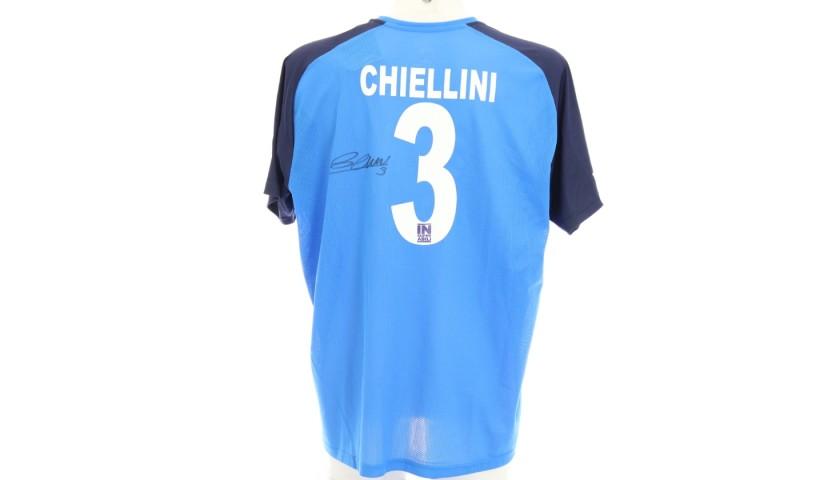 Chiellini's Official Insuperabili Signed Shirt, 2019/20
