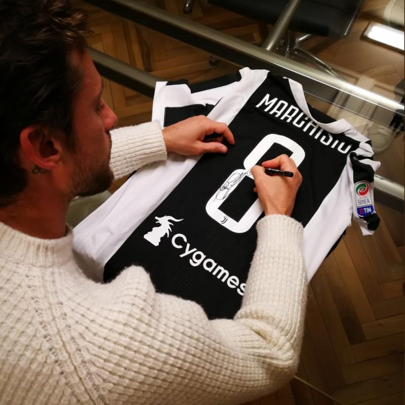 Maglia Ufficiale Marchisio Juventus - Autografata 2017/18