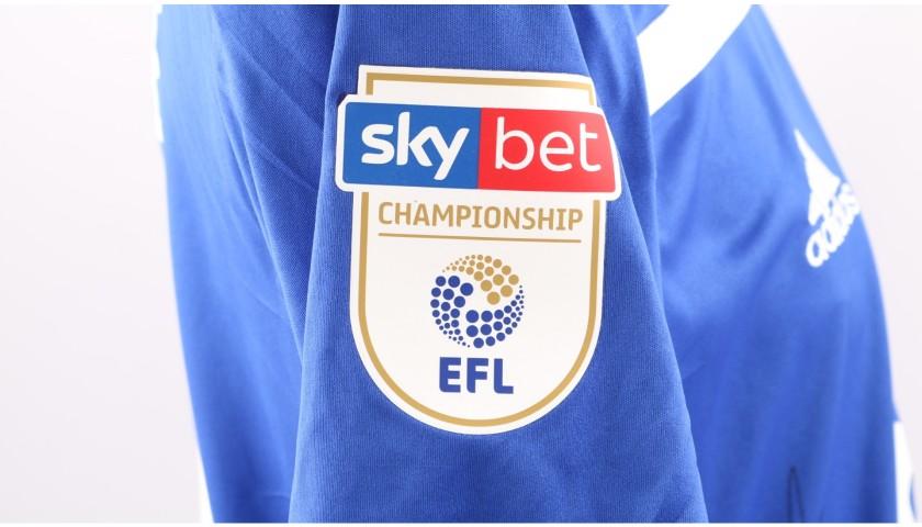 Bogle's Birmingham City FC Worn and Signed Poppy Shirt